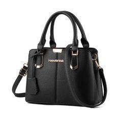 Shoulder Bags Women Shoulder Messenger Bags Leather Handbags Large Women Bag High Quality Casual Bags Women Trunk Tote Clear-Cut Texture