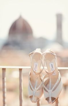 Jimmy Choo Wedding Shoe!