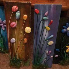 Stone Crafts, Rock Crafts, Craft Stick Crafts, Pebble Painting, Pebble Art, Stone Painting, Painted Rock Cactus, Painted Rocks Kids, Hobbies And Crafts