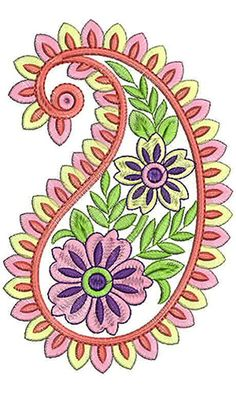 6528 Paisley Embroidery, Crewel Embroidery, Hand Embroidery Designs, Beaded Embroidery, Embroidery Patterns, Paisley Art, Paisley Design, Paisley Pattern, Paisley Stencil