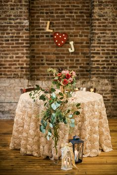 Minimal Burgundy Loft Reception Decor   A.J. Dunlap Photography   CE Rental   Erin McLean Events   Serendipity Desires   Twenty-One Films   Themeworks   http://knot.ly/6492BZZDo