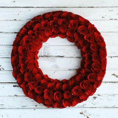 Wood Curl Wreath Home Ideas