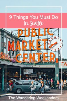 9 Things you have to do when visiting Seattle: from the Space Needle to food tours to day trips out of the city. Seattle has a ton to offer!