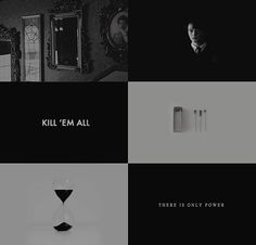 "↳ character aesthetics ♡ tom marvolo riddle 1/2 ""Greatness inspires envy, envy engenders spite, spite spawns lies."""