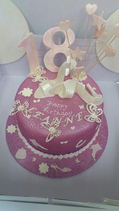 18-th birthday cake
