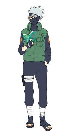 Kakashi, laid-back as always. Kakashi Hatake, Shikamaru, Naruto Kakashi, Hinata, Boruto, Manga Anime, Naruto Images, Anime Drawings Sketches, Naruto Characters