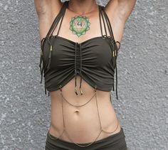 Sale Gypsy Diamond tube top by KayoAnimeClothing on Etsy