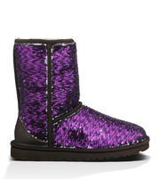 UGG Classic Short Sparkles | Free Shipping at UGGAustralia.com #ugg #boots #cyberweek