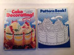 Wilton Cake Decorating 1993 Yearbook and Pattern Book Baking Cupcakes Ideas