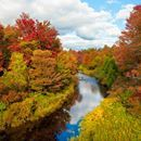 A good place to fish, in the Pocono Mountains of PA, in the fall. Taken by Bob Wooley Pocono Mountains, Bob, Autumn, River, Fish, Places, Outdoor, Outdoors, Fall Season