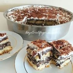 Best dessert recipes that you will love and it's so easy and delicious Fun Easy Recipes, Best Dessert Recipes, Greek Recipes, Fun Desserts, Turkish Recipes, Cake Recipes, Mousse Au Chocolat Torte, Iftar, Cake Shop