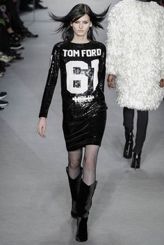 Trend Luxe Sport tom ford fall winter 2014 show20 Top 5 Fall/Winter 2014 Trends From Paris, London, New York & Milan