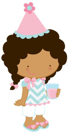 ZWD-girl-birthday-party-clipart - Minus