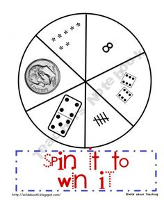SPIN IT TO WIN IT MATH GAME