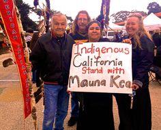 "INDIGENOUS CALIFORNIA - ""WE ARE MAUNA KEA"" - http://FreeHawaii.Info   #ProtectMaunaKea #StandFiorMaunaKea #WeAreMaunaKea #AlohaAina #AoleTMT #FreeHawaii #HawaiianKingdom #GoHawaii #LetHawaiiHappen"
