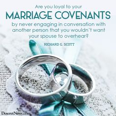 Marriage covenants