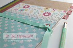 DIY Cómo hacer una libreta personalizada | decorated notebook