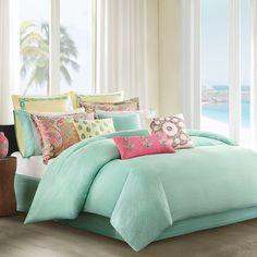 http://www.bebarang.com/cool-and-calm-mint-green-bedding/?preview=true Cool And Calm, Mint Green Bedding : Echo Guineve Comforter Set Mint Green Bedding