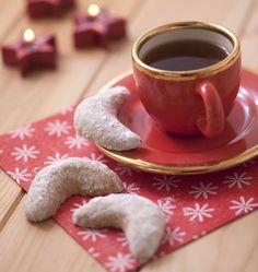 Recette Vanille Kipferl de Christophe Felder : des petits biscuits alsaciens (bredele) pour Noël ou la Saint-Nicolas. Une bonne idée de cadeaux gourmands !