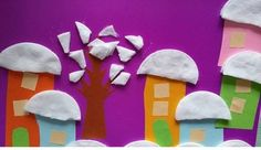 Winter craft and project idea for preschoolers Winter Craft, Project Ideas, Projects, Art Ideas, Homeschool, Crafts, Log Projects, Blue Prints, Manualidades