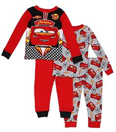 Baby P j's make your toddler pleasant for sleep and bedtime snuggles! Purchase your preferred trend, like footie pajamas and comfy pajama units. Childrens Pyjamas, Toddler Pajamas, Boys Pajamas, Toddler Outfits, Baby Boy Outfits, Kids Outfits, Boys Sleepwear, Baby Boy Fashion, Disney Cars