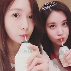 Yoona and Seohyun 💖💖💖 Whew! What a long hiatus. Gonna try to be more active and resume updating this! There are still so many memories to be made with SNSD 💕 #snsd #girlsgeneration #soshibond #seohyun #imyoona #seojoohyun #소녀시대 #윤아 #서현