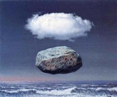 René Magritte - Clear ideas, 1958