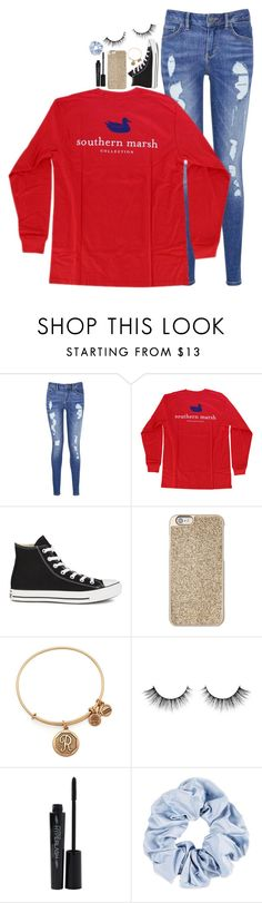 """""""happy birthday my love😍💖"""" by rach-elizzz ❤ liked on Polyvore featuring Tommy Hilfiger, Converse, Michael Kors, Alex and Ani and Smashbox"""