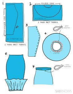Easy DIY Disney Princess Costumes — Because You're Officially Out of Time Gorgeous Disney princess costumes you can make with basic sewing .Gorgeous Disney princess costumes you can make with basic sewing . Mermaid Skirt Pattern, Mermaid Tail Skirt, Diy Mermaid Tail, Disney Diy, Mermaid Costume Kids, Mermaid Tail Costume, Halloween Mermaid, Little Mermaid Costumes, Batman Kostüm Kind