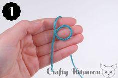 Crochet a Magic Ring – Crafty Kitsurou Crochet Paw Patrol Hat, Magic Ring Crochet, Diy Crochet Projects, Magic Circle, Crochet Slippers, Crochet For Beginners, Crochet Stitches, Finger, Crafty