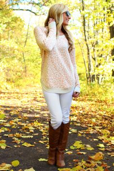 Chilled Out Cheetah Sweater