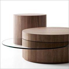 Verdesign Stilo, side & inside occasional table