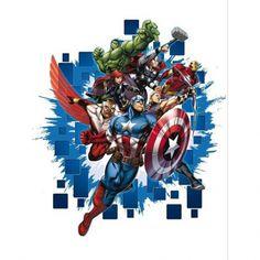 Stickers Avengers Super Héros Marvel - grand format, 17,90 €