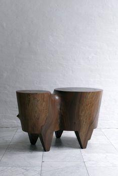 Lodge Furniture, Wood Furniture, Furniture Design, Ceramic Stool, Industrial Interior Design, Drink Table, Mid Century Modern Furniture, Fine Woodworking, Home Decor Trends
