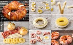 Bacon-Mozarella-Pineapple Donut