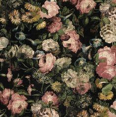 Wallpaper. Midnight Garden, House of Hackney