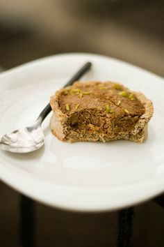 Овсяные тарталетки с кофейным арахисовым кремом