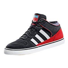 new product 8cf80 ed59e Culver Mid Trainers Black   Red   White aC2Ve38984E Adidas comparison  Black rot White   Men
