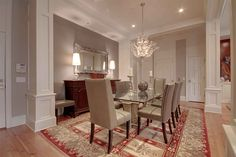 Dining Room inspiration from the Druid Hills Tour of Homes in Atlanta's historic Druid Hills neighborhood.