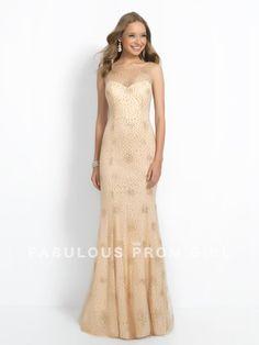Sheath / Column Scoop Beading Sleeveless Floor-length Tulle Prom Dresses / Evening Dresses - FabulousPromGirl.com