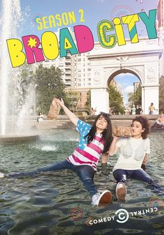 Broad City - Season 2 // An odd couple comedy about two best friends navigating their twenties in New York City whose adventures always lead down unexpected and outlandish paths. They're broke, flawed, and don't shy away from the sticky situations NYC throws at them, they dive right into the muck. But no matter how bad it gets, these young broads are always down with whatever hits.