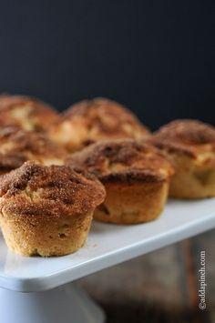 Cinnamon Apple Muffins Recipe from addapinch.com