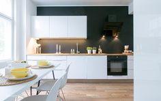 Zuhause, Neue Wege, Neue Küche, Küchen Aktuell, Haus Küchen,  Inneneinrichtung, Weiße Schränke, Wandschränke, Küche Und Esszimmer,  Esszimmer, ...