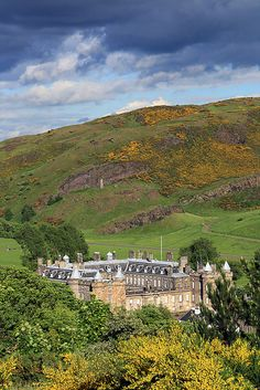 The Palace of Holyroodhouse, also known as Holyrood Palace, is the official residence of the monarch in Scotland.