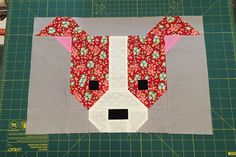 Bildresultat för Free Dog Quilt Block Patterns