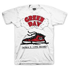 Green Day When I Come Around T-Shirt
