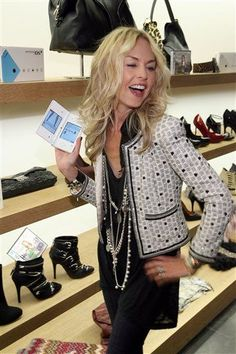 CHANEL - No one rocks Chanel like Rachel Zoe! A boucle jacket should be part of every woman's wardrobe and RZ wears hers all the time.