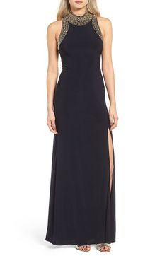 Blondie Nites Embellished Gown available at #Nordstrom