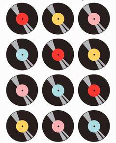 Mini Kit de los Años 50 para Imprimir Gratis. | Ideas y material gratis para fiestas y celebraciones Oh My Fiesta!
