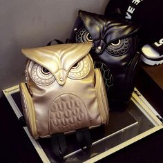 Cheap owl backpack, Buy Quality fashion women backpack directly from China women backpack Suppliers: 2017 Newest X Feeling Fashion gothic bag Design Women Backpacks Owl Stylish Cool Black Pu Leather Women Bags owl backpack Owl Backpack, Backpack 2017, Mini Backpack, Travel Backpack, Leather School Bag, Owl Bags, Bags Travel, Backpack Brands, Gothic Steampunk